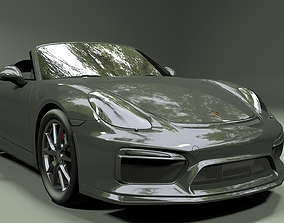 3D model Porsche Boxster Spyder