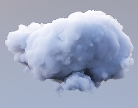 3D model Polygon Cloud 12