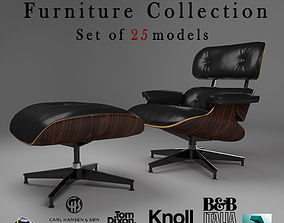 Contemporary Furniture Collection 3D