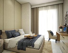 Guest Bedroom 3D dressing