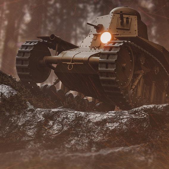 T - 18 tank