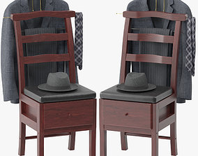 Westbrook Chair Valet Stand 3D