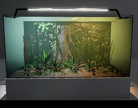3D model animated Aquariums Customizable
