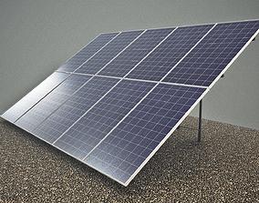 3D model Solar panels solarpanels