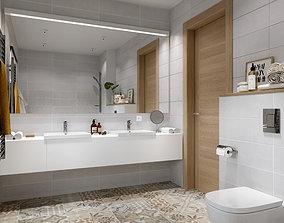 Scandinavian wc 3D model