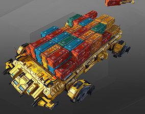3D asset Heavy Freighter MB4