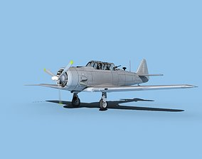 3D North American AT-6 Texan Bare Metal
