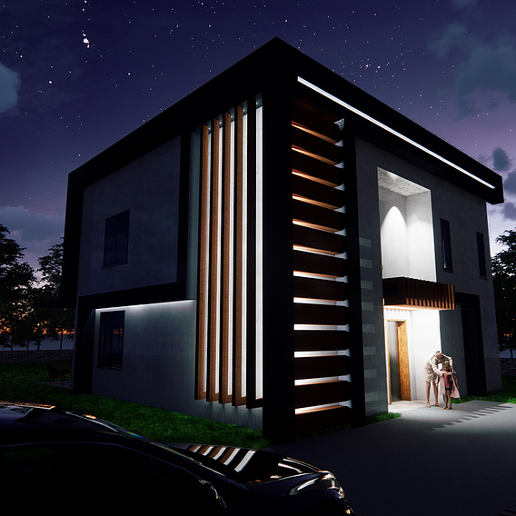 3d Modelling of House