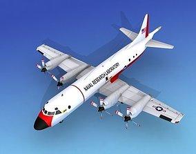 Lockheed P-3 Orion US Navy 10 Hp 3D model