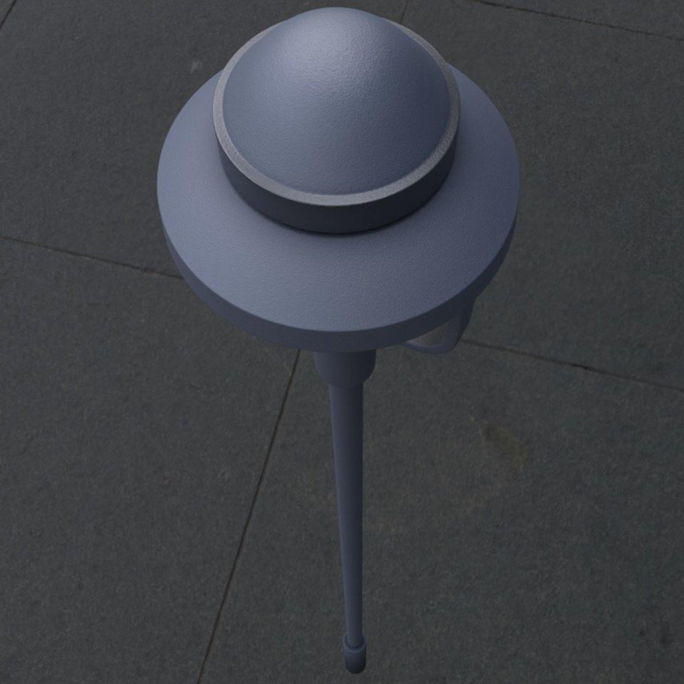 Street Light 5 - High-Poly Version
