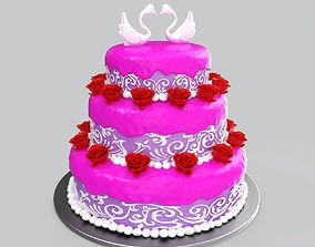 Wedding Cake 3D