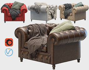 chaise 3D Armchair Chester One