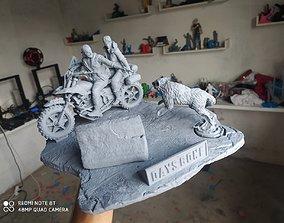 3D printable model horror Days Gone Diorama
