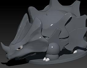3D print model Rhyhorn