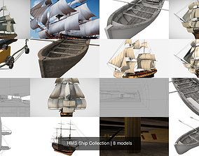 3D HMS Ship Collection