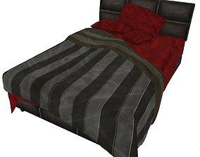 Bedcloth 08 3D asset