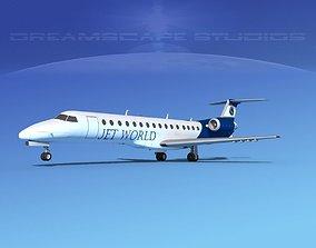 Embraer ERJ-140 Jet World Connection 3D