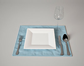 3D Tableware Set Royal Batania IXIT