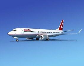 Boeing 737-800 Lauda Air 3D