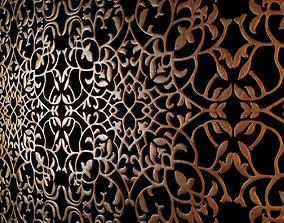 3D model Wood decorative ceiling