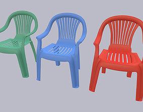 design Plastic Chair 3D model