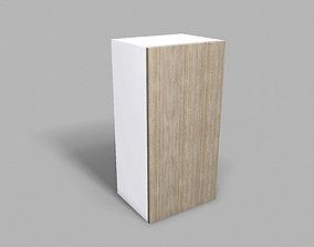 3D model Kitchen Upper Cabinet 40 cm