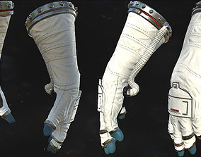 Astronaut VR Hands I Animated I Optimized 3D asset