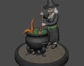 3D printable model Witch Brewery
