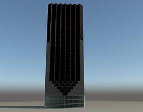 3D model Trump Tower-New York City