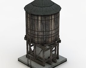 Water Tank 3D model realtime