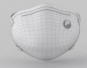 N95 Mask 3D asset
