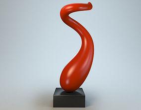 Sculpture Curl P 3D printable model