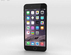 Apple iPhone 6 Plus Space Gray 3D
