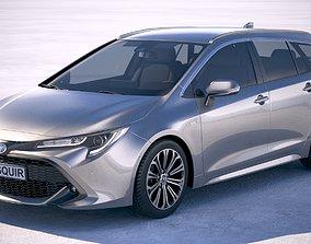 3D model Toyota Corolla Touring Sports 2019