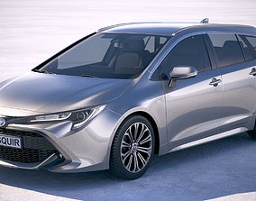 3D model Toyota Corolla Touring Sports 2019