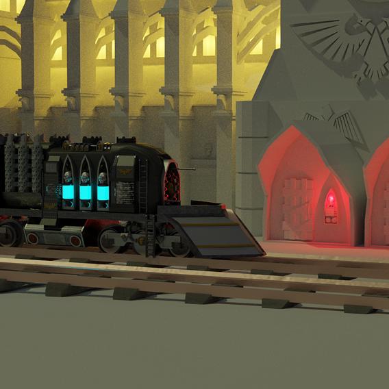 Warhammer 40k Temple