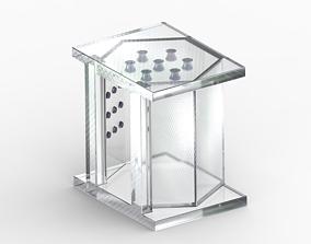 Stylish Glass Elevator 3D print model