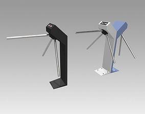 3D Turnstile tripod Trilock set