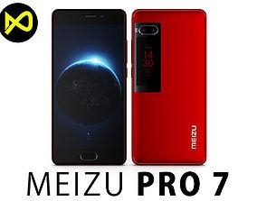Meizu Pro 7 Red 3D