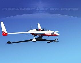 3D model Rutan Long-EZ V11