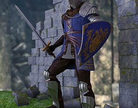 Knight of Astora Oscar from Dark Souls 3D printable model