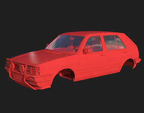 3D print model Volkswagen Golf II Country - Body and