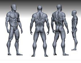 male anatomy modeler realtime