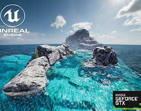 3D model Unreal engine 4 OlympicShader