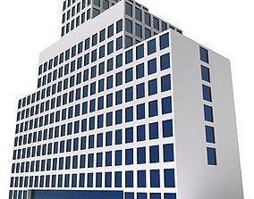 Hospital City Building 125 3D