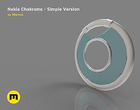 3D printable model Nakia Chakrams simple version