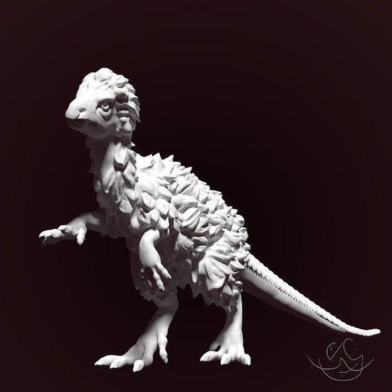 Far Eastern dinosaur