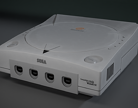 3D model animated Sega Dreamcast