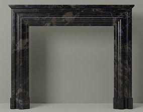 Architectural Fireplace mantel 3D model