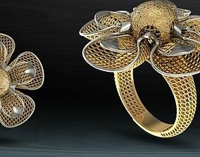 design jewellery gold-ring 3D model